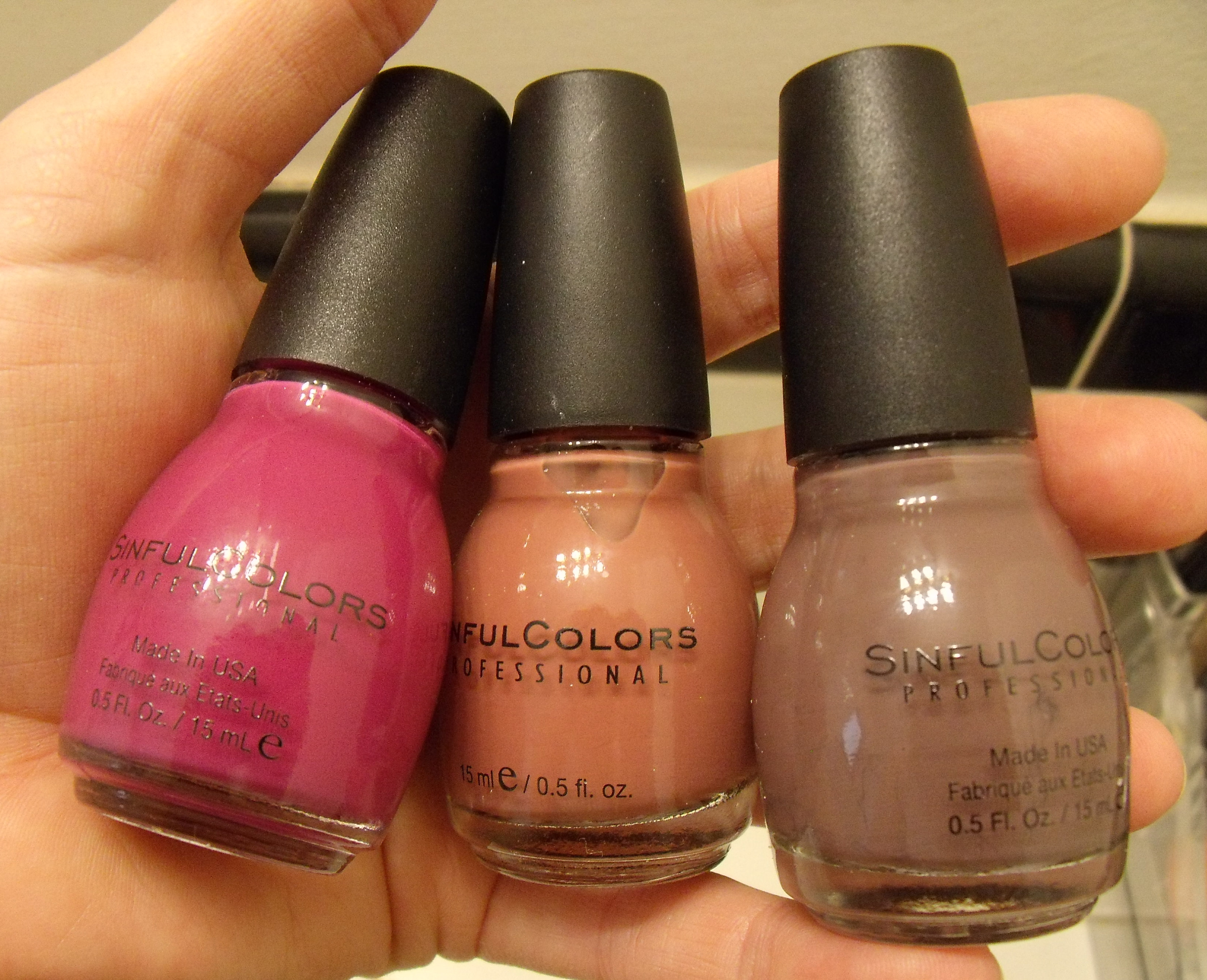 Sinful Colors Nail Polish Review & Swatches: Vacation Time, Graine ...