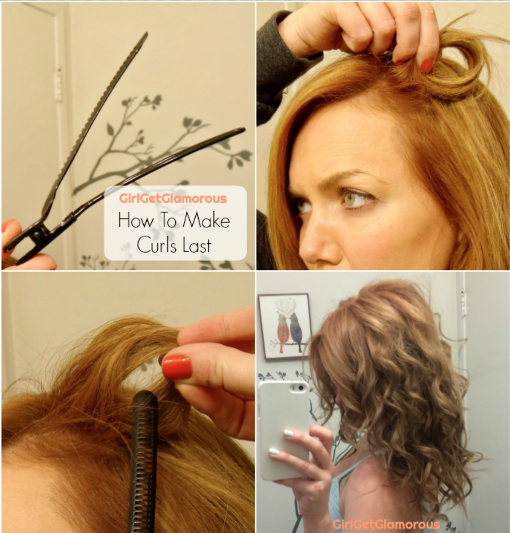 how to make curls last