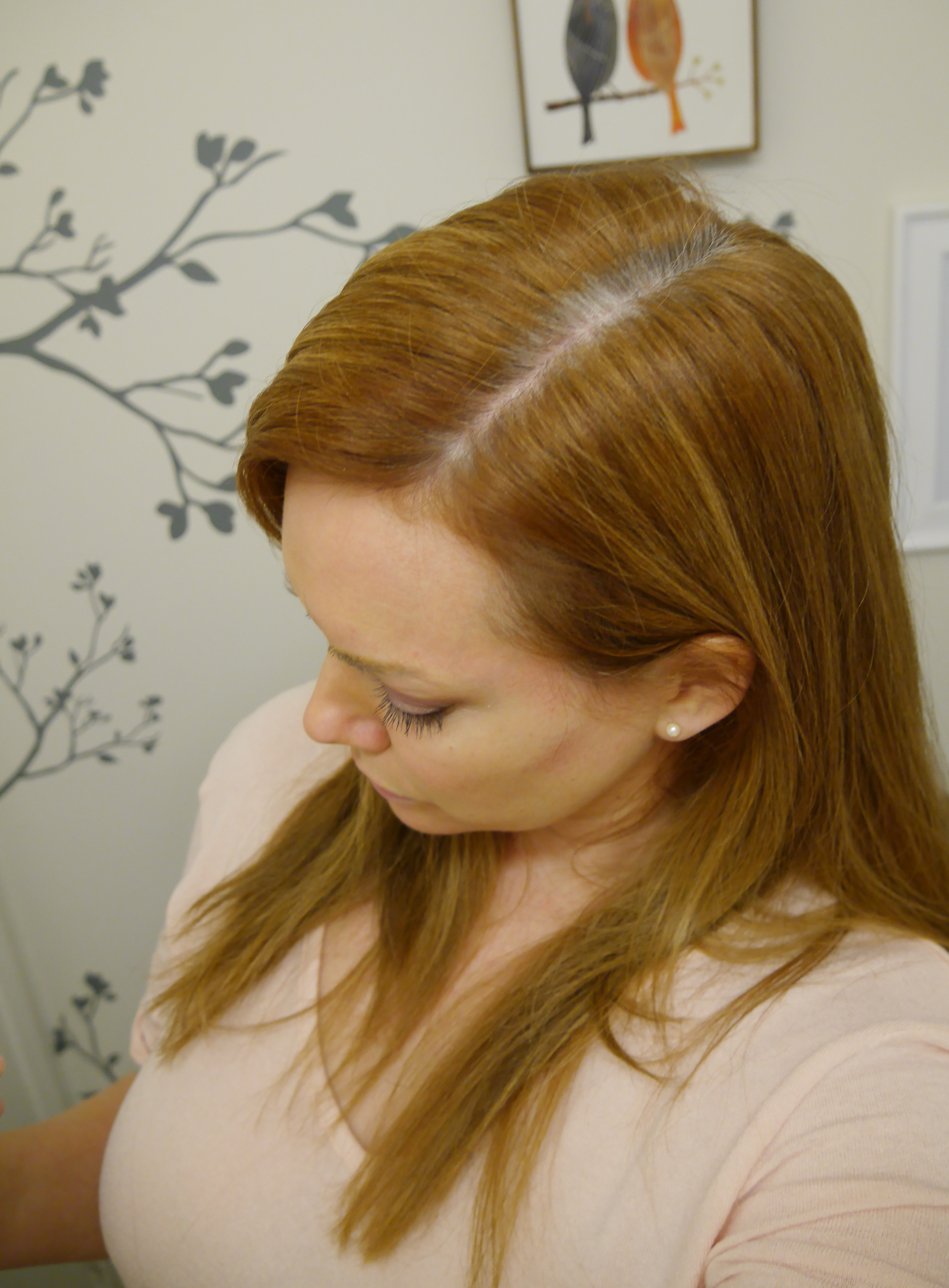 Before root touch up spray