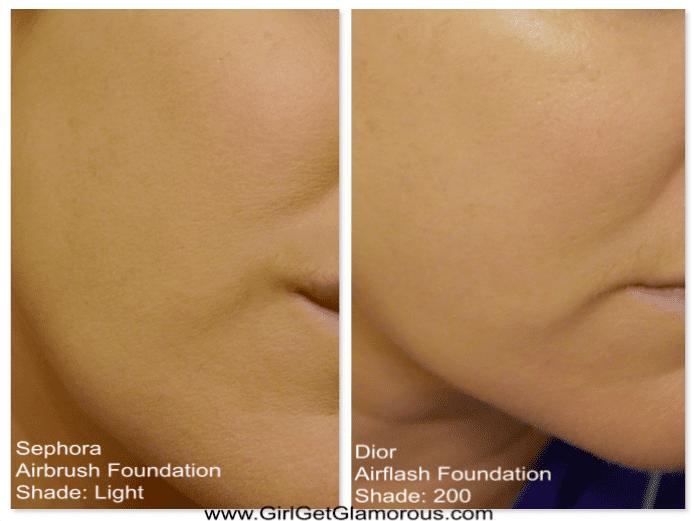 Sephora-Spray-airbrush-foundation-light-dior-airflash-foundation-200-swatches-review-comparison.jpeg