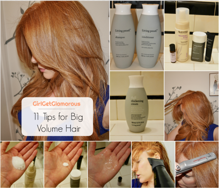 11 tips for big huge hair