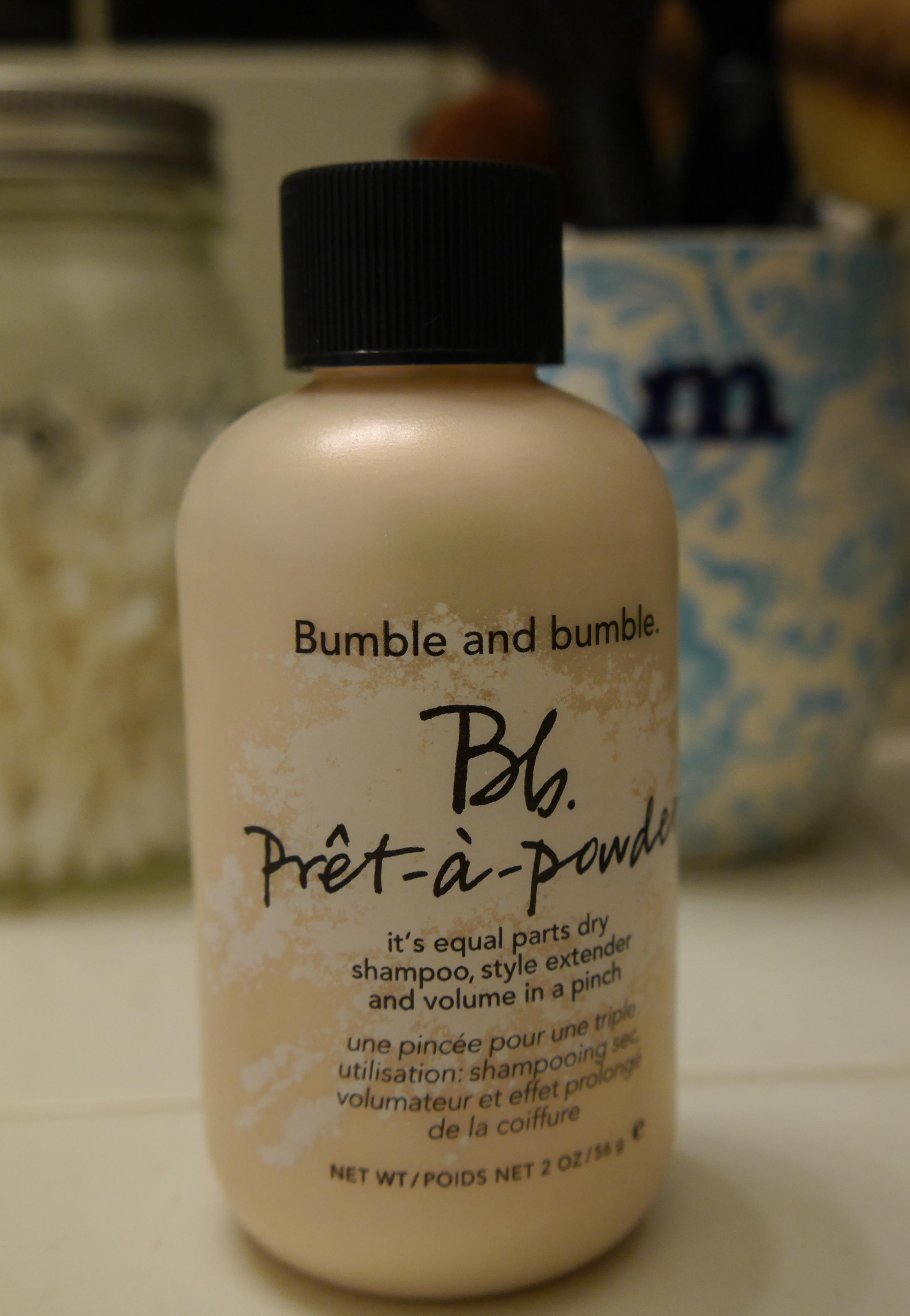 Bumble Bumble Pret A Powder Review Demo About That Big Hair