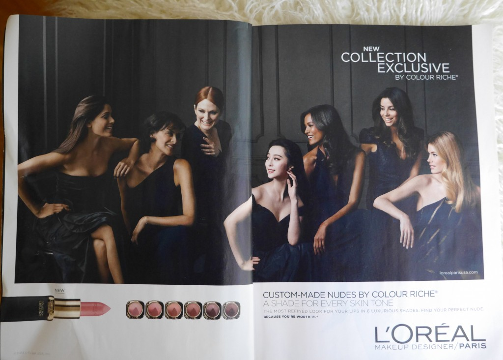 Ok, so in this ad they are called Collection Exclusive, but online the are being called Collection Privee. Not sure which is right, but who cares because we can get them again!