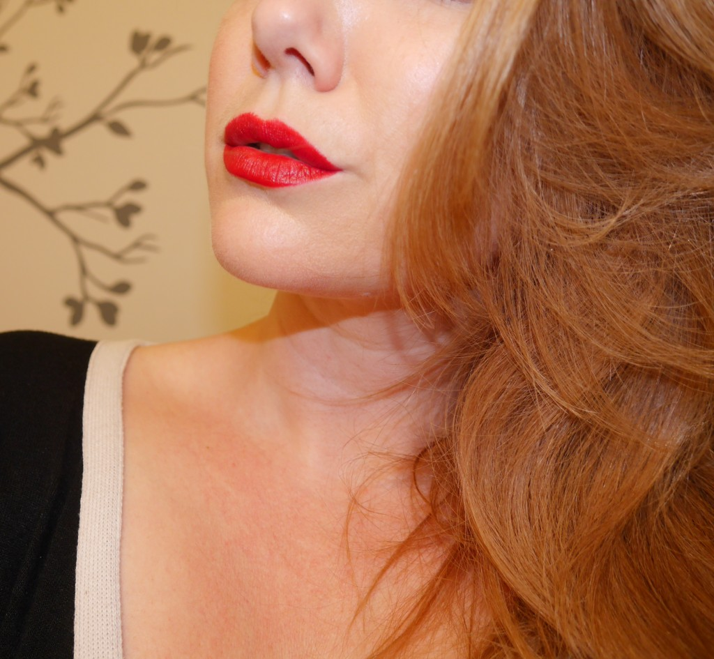 Who says redheads can't wear red lipstick?