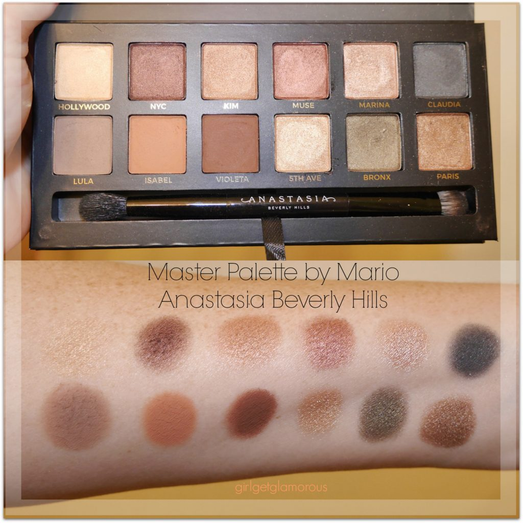 Master Palette by Mario ABH Review Swatches