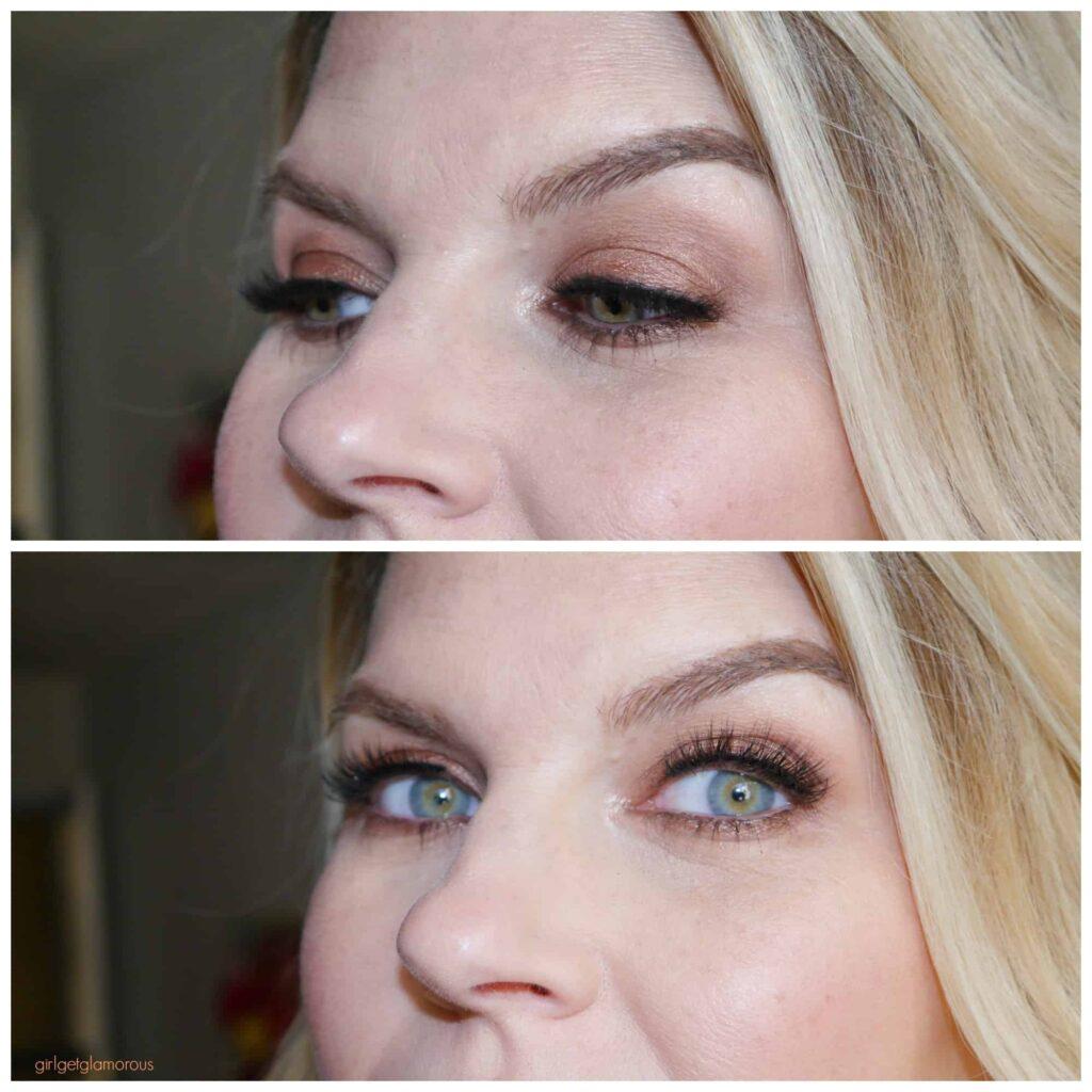 friend ship friday girlgetglamorous hair false lashes head honcho makeup before and after glam hair