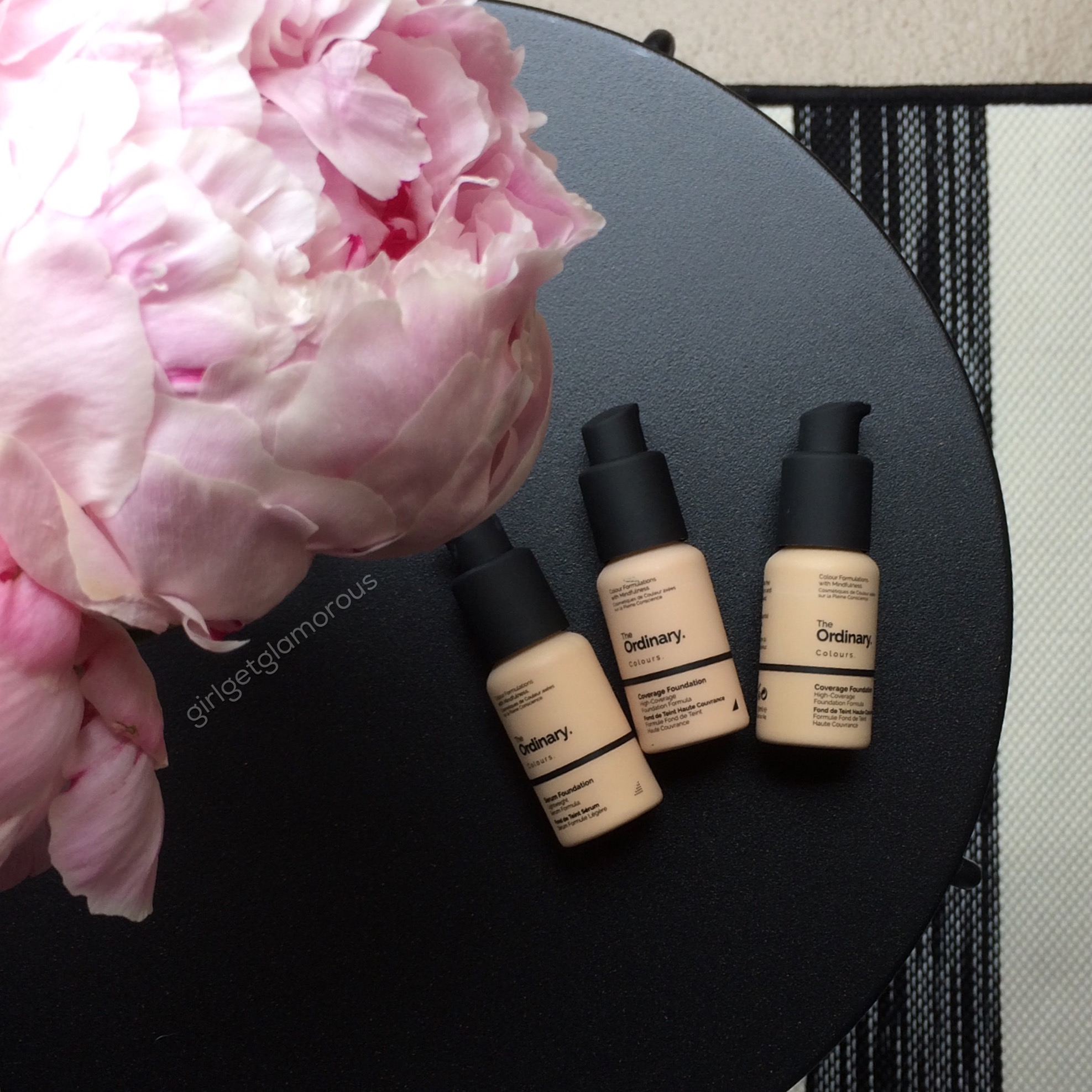 the ordinary full coverage foundation swatches fair light