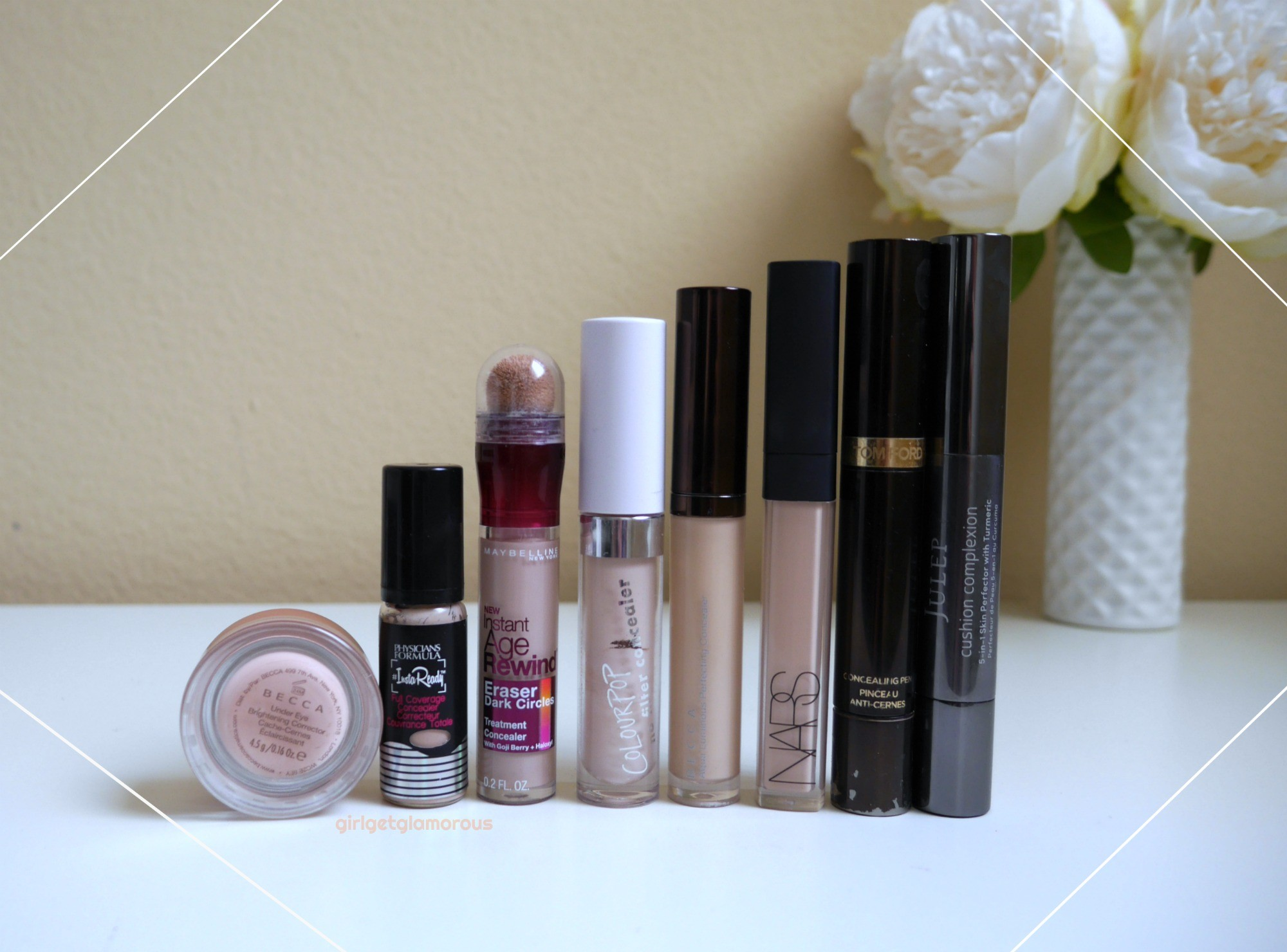 best concealers for dry mature skin fair light shade swatces maybelline age rewind
