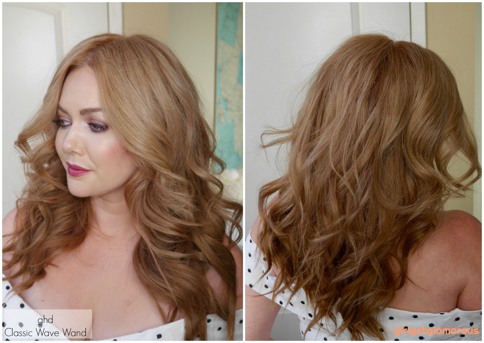 ghd classic wave tong wand curler curl results before after beach curls waves beauty blog best curler for my hair blogger