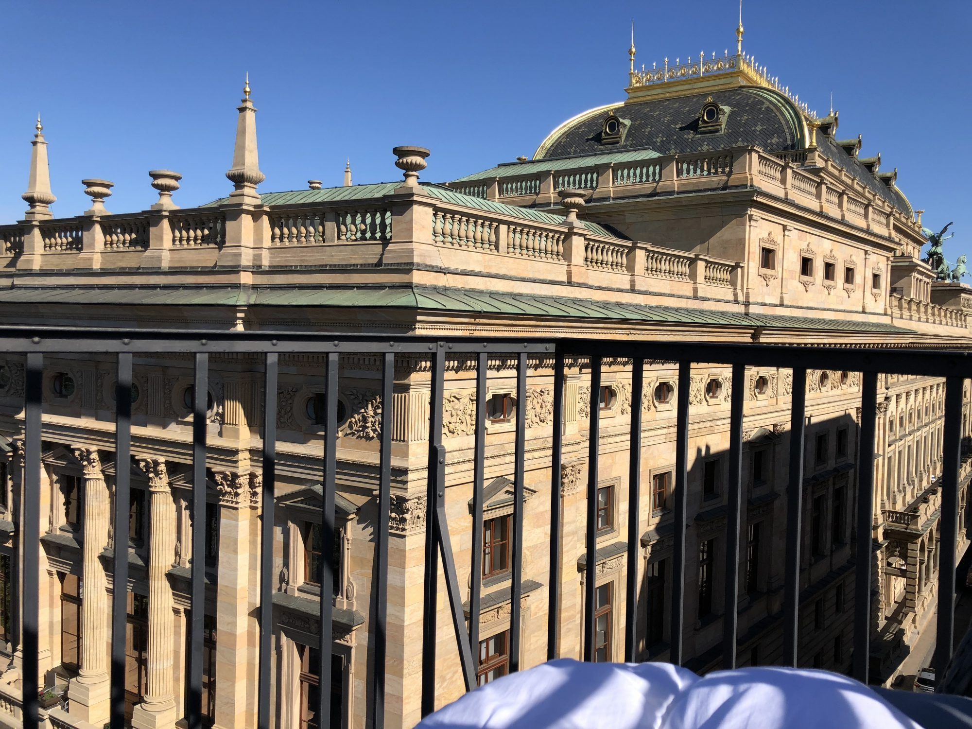 prague national theatre view from air b an b