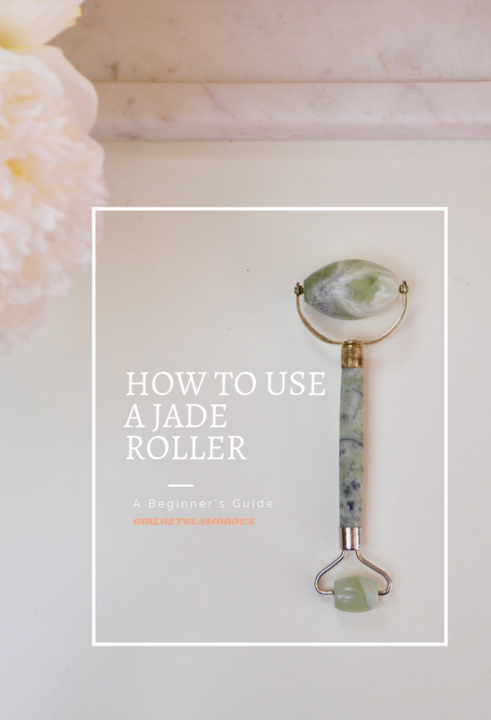 top way to jade roller how to use beauty blog blogger guide tutorial best lymphatic drainage