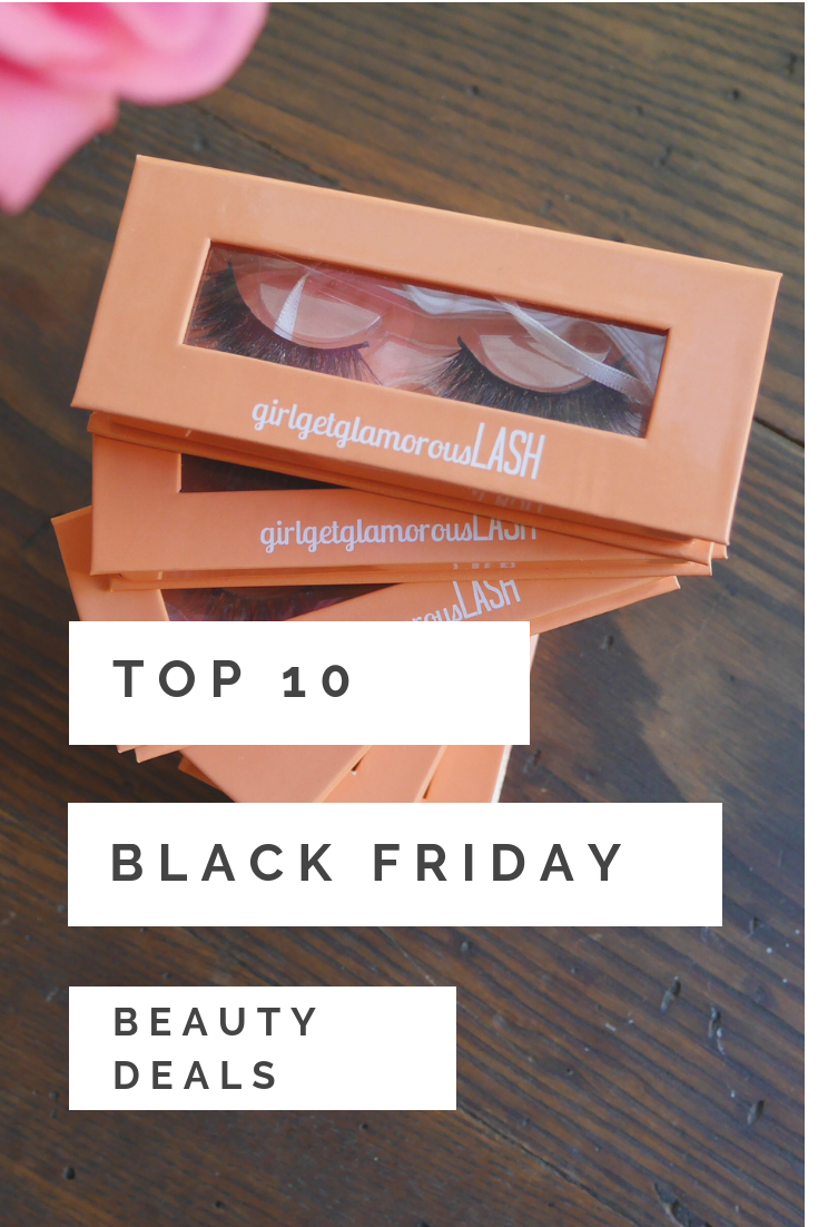 top 10 beauty deals black friday cyber monday 2018 blog picks lashes makeup hair