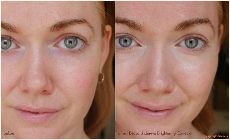 How To Use Becca Under Eye Brightening Corrector To Hide Dark