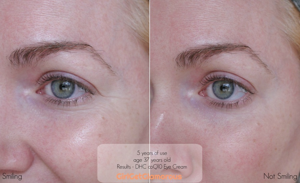 dhc coq10 eye cream the best for wrinkles fine lines dark circles review