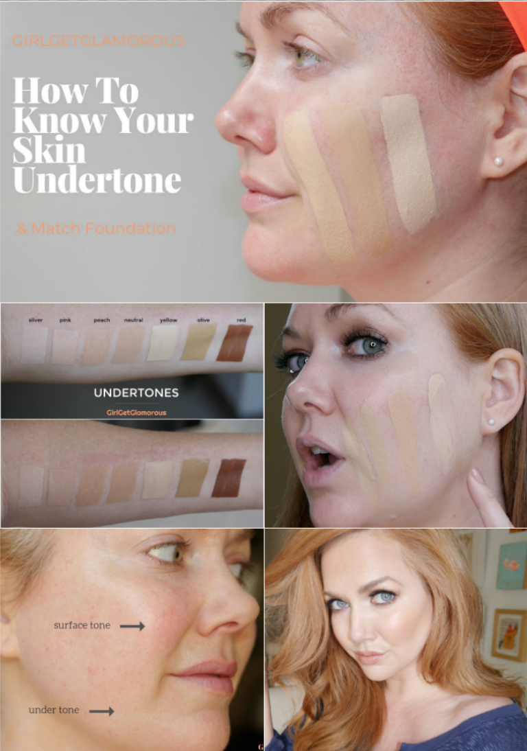 how to tell foundation undertone