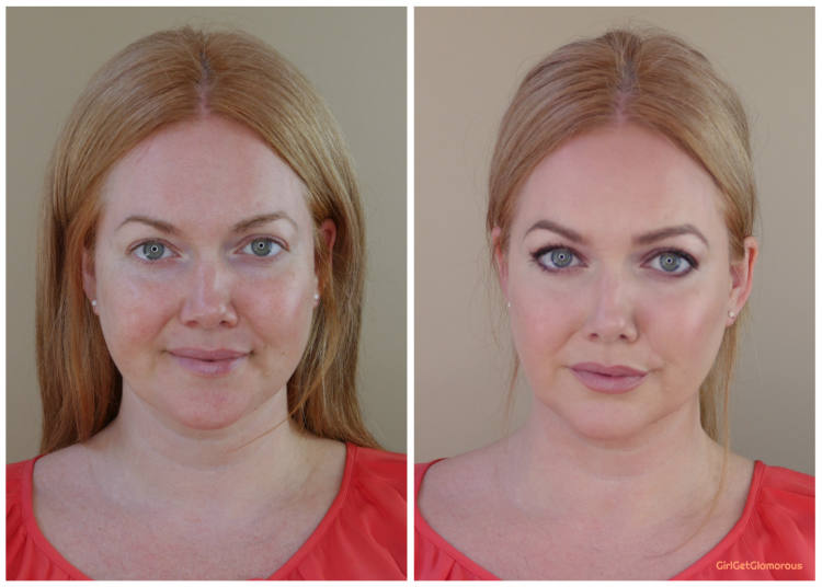 before after contour tutorial