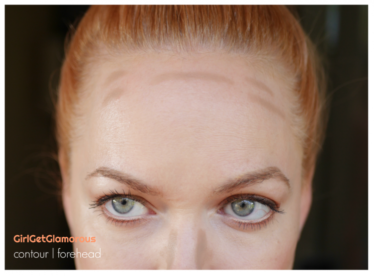 contour forehead guide