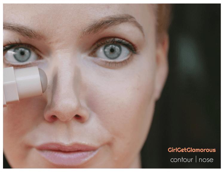contour nose guide tutorial