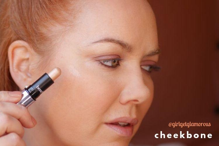 how to highlight cheekbone