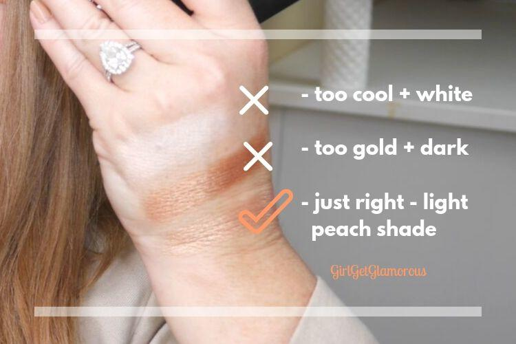 beauty blogger Molly Gardner GirlGetGlamorous shows you how to finding your highlighter shade
