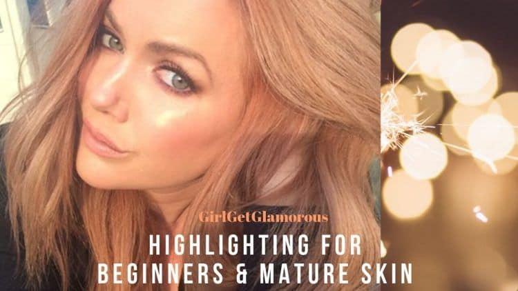 highlighting mature skin demo tutorial