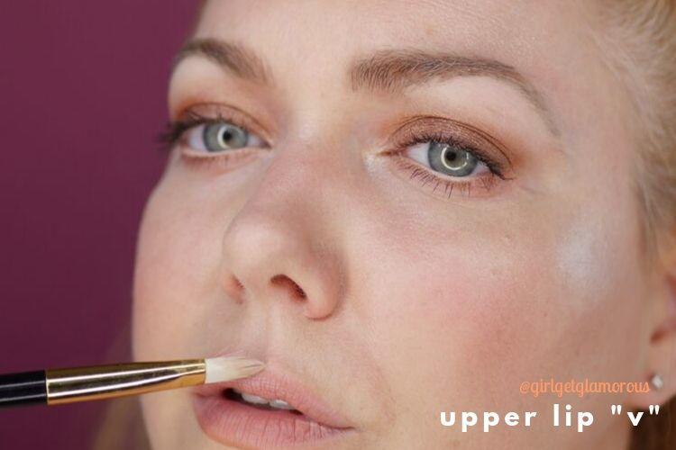 upper lip v highlight demo