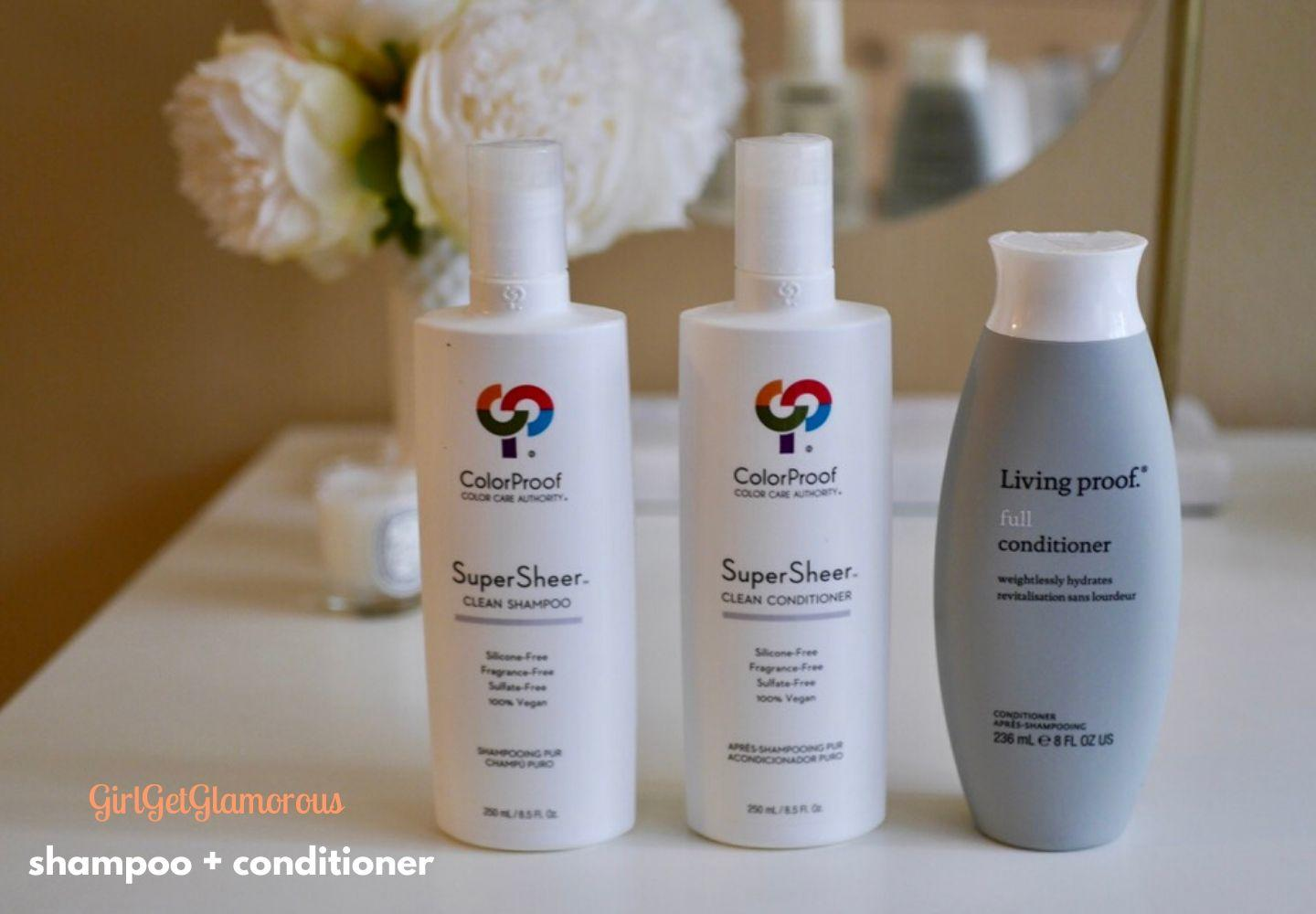 best shampoo conditioner for colored dyed hair volume