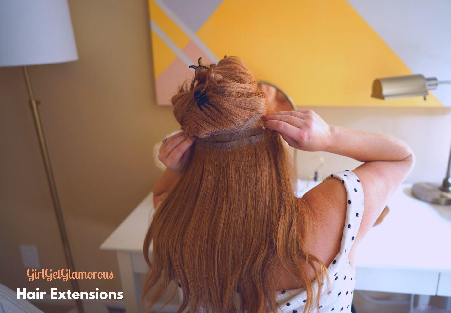 hair extensions how to get long hair fast