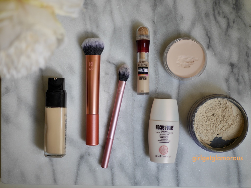 drugstore foundation concealer routine