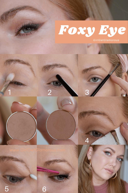 foxy eye makeup tutorial