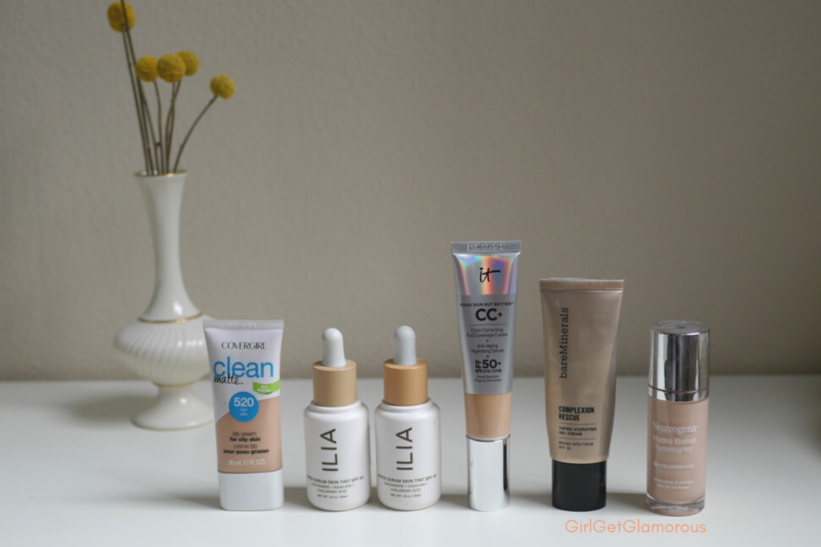 favorite sheer base products