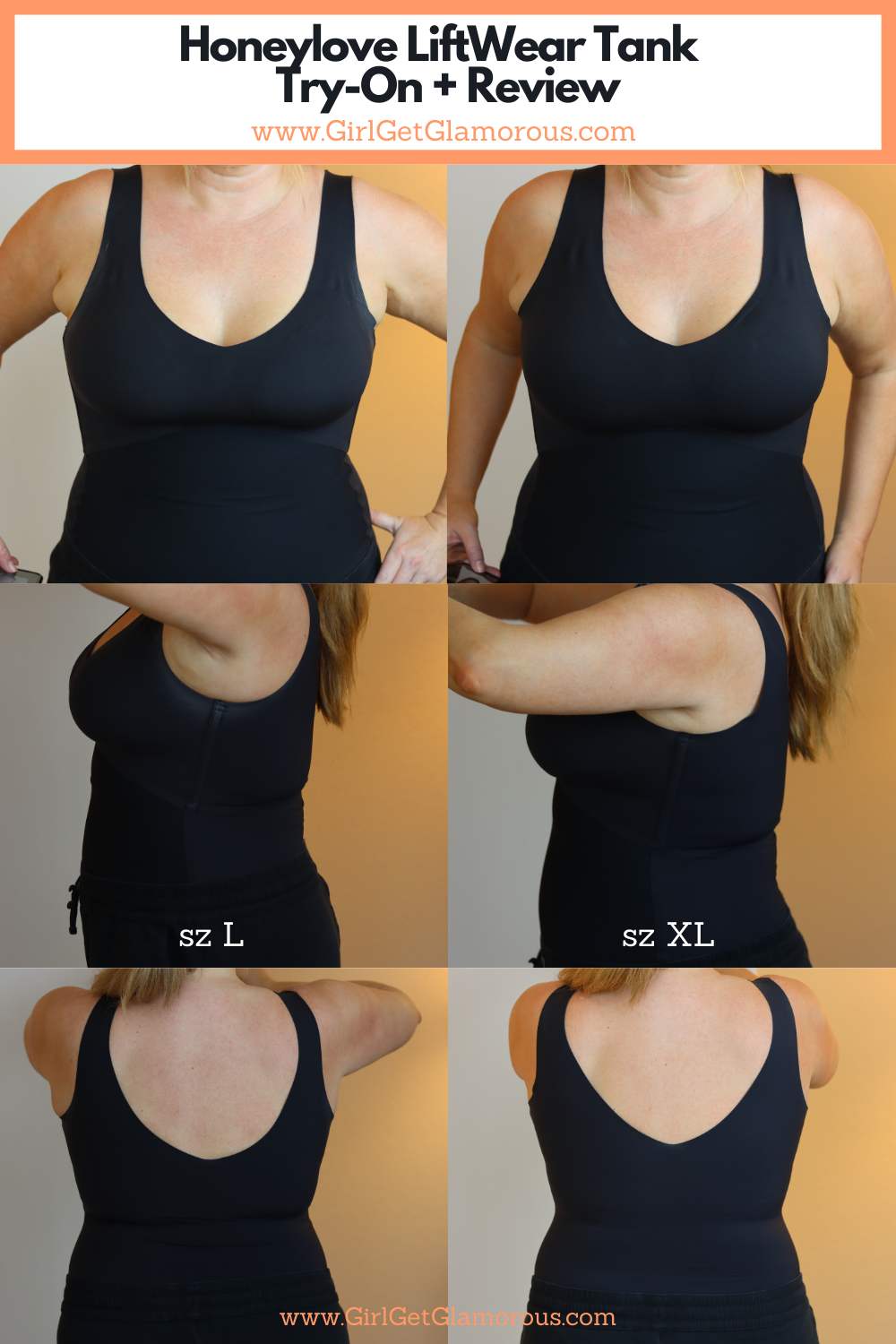 honeylove tank try on before and after