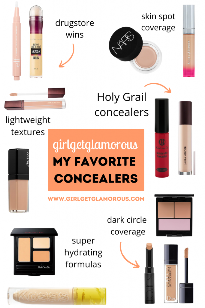 favorite concealers by purpose