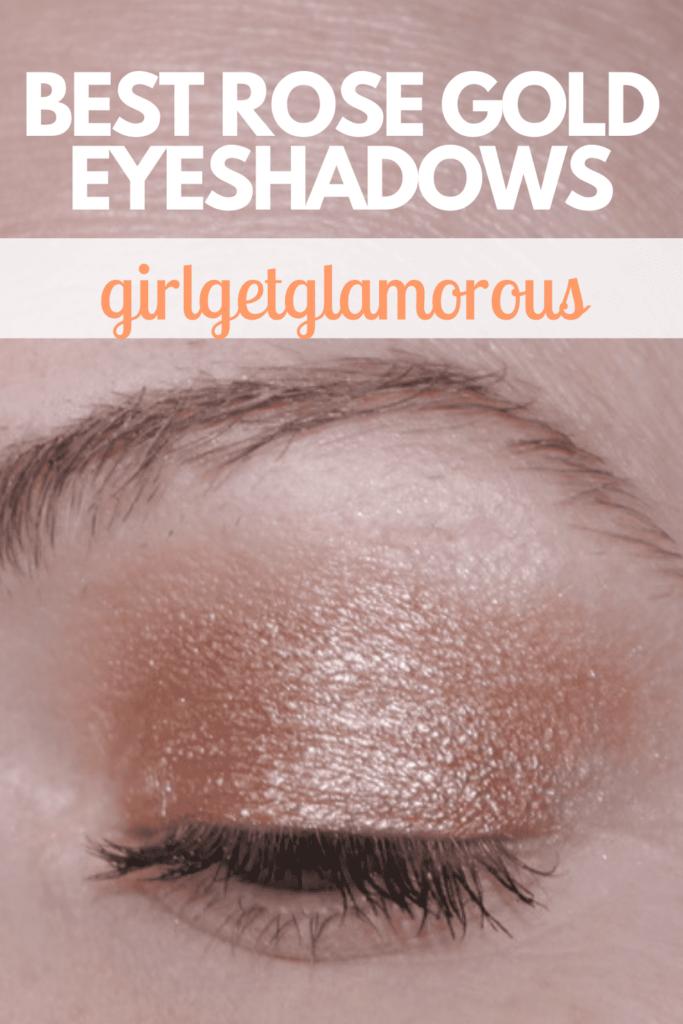 pinterest rose gold eyeshadow